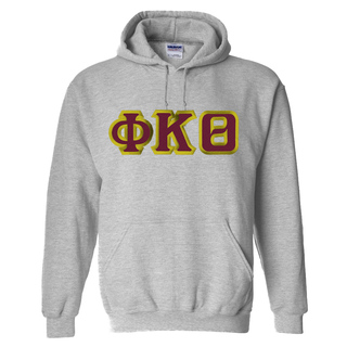 Phi Kappa Theta Custom Twill Hooded Sweatshirt