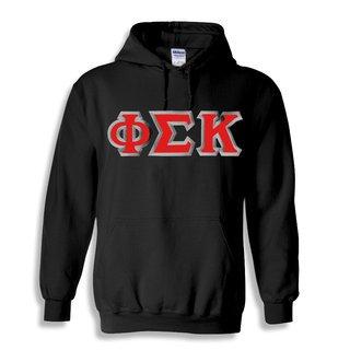 Phi Sigma Kappa Custom Twill Hooded Sweatshirt