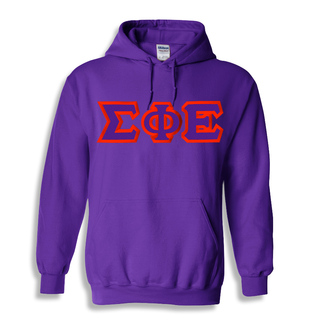 Sigma Phi Epsilon Custom Twill Hooded Sweatshirt