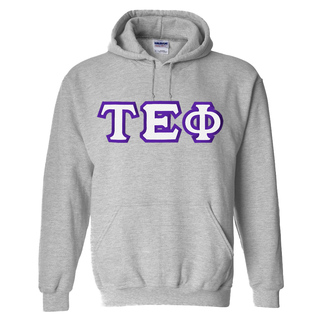 Tau Epsilon Phi Custom Twill Hooded Sweatshirt