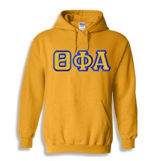 $30 Theta Phi Alpha Custom Twill Hooded Sweatshirt