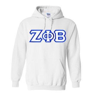 Zeta Phi Beta Custom Twill Hooded Sweatshirt