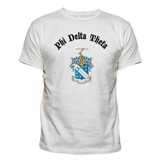 Fraternity Vintage Crest - Shield T-shirt
