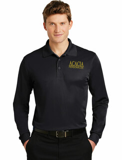 ACACIA- $30 World Famous Long Sleeve Dry Fit Polo