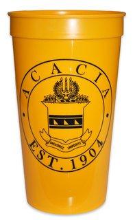 ACACIA Big Plastic Stadium Cup