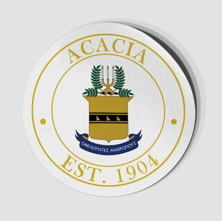 ACACIA Circle Crest - Shield Decal