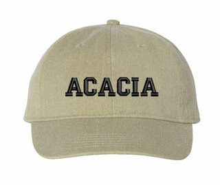 ACACIA Comfort Colors Pigment Dyed Baseball Cap