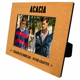 ACACIA Cork Photo Frame