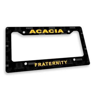 ACACIA Custom License Plate Frame