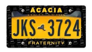 ACACIA License Plate Frame