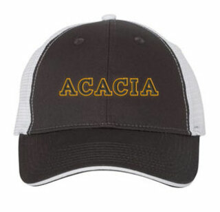 ACACIA Double Greek Trucker Cap