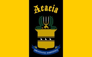 ACACIA Flag Decal Sticker