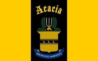 ACACIA Flag Decal Sticker