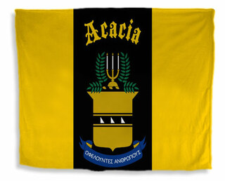 ACACIA Flag Giant Velveteen Blanket
