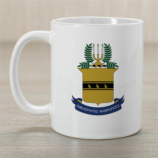 ACACIA Greek Crest Coffee Mug