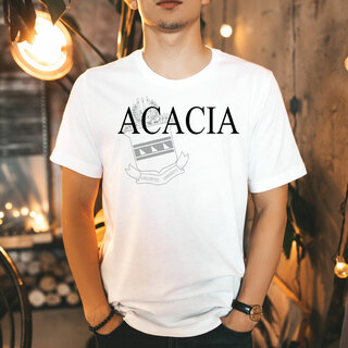 ACACIA Greek Crest - Shield T-Shirt