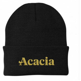 ACACIA Greek Letter Knit Cap