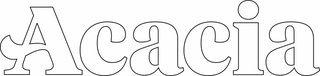 ACACIA Greek Letter Window Sticker Decal