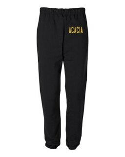 ACACIA Greek Lettered Thigh Sweatpants