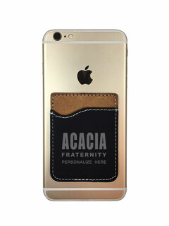 ACACIA Leatherette Phone Wallet