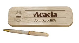 ACACIA Maple Wood Pen Set