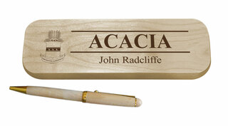 ACACIA Maple Wood Pen Set