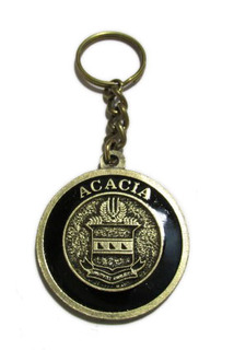 ACACIA Metal Fraternity Key Chain