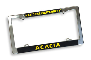 ACACIA National Fraternity License Plate Frame