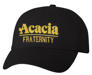 ACACIA Old School Greek Letter Hat
