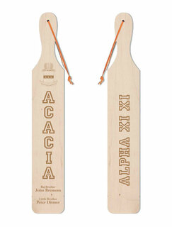ACACIA Old School Wood Greek Paddle