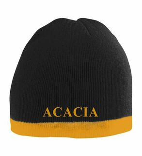 ACACIA Two Tone Knit Beanie