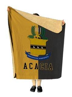 ACACIA Two Tone Two Tone Sherpa Lap Blanket