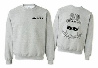 ACACIA World Famous Crest - Shield Crewneck Sweatshirt- $25!