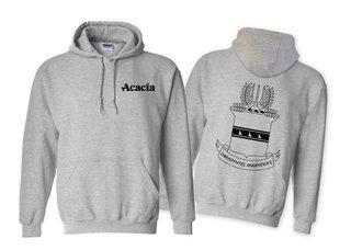 ACACIA World Famous Crest - Shield Hooded Sweatshirt- $35!
