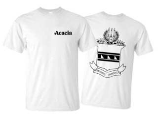 ACACIA World Famous Crest - Shield Tee