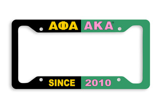 AKA - House United License Plate Frame