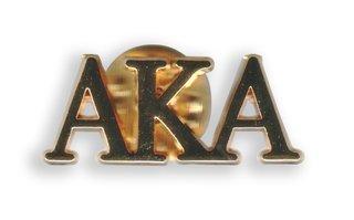AKA Letter Pin