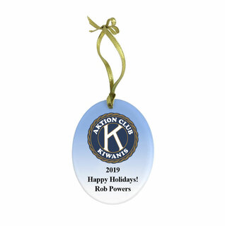Aktion Holiday Color Glass Ornament