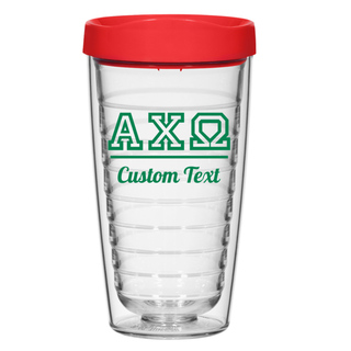 Alpha Chi Omega 16oz. Double Wall Tumbler