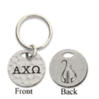Alpha Chi Omega 2-Sided Key Ring