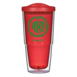 Alpha Chi Omega 24oz Biggie Tumbler with Lid