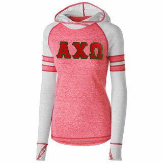 DISCOUNT-Alpha Chi Omega Advocate Lettered Hoody