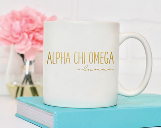 Alpha Chi Omega Alumna Mug