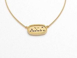 Alpha Chi Omega Athena Necklace