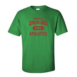 Alpha Chi Omega Athletics T-Shirts