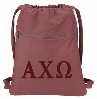 Alpha Chi Omega Beach Wash Cinch Pack