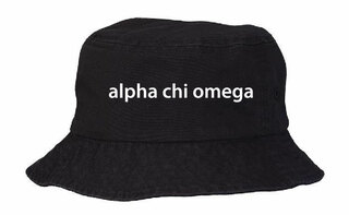 Alpha Chi Omega Bucket Hat