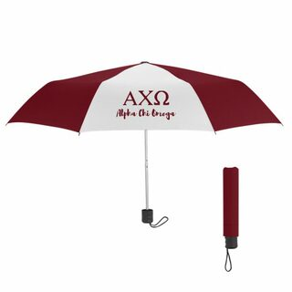 Alpha Chi Omega Budget Telescopic Umbrella