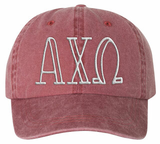Alpha Chi Omega Carson Greek Letter Hats
