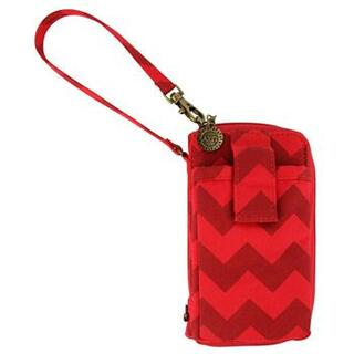 Alpha Chi Omega Chevron Wristlets Cases